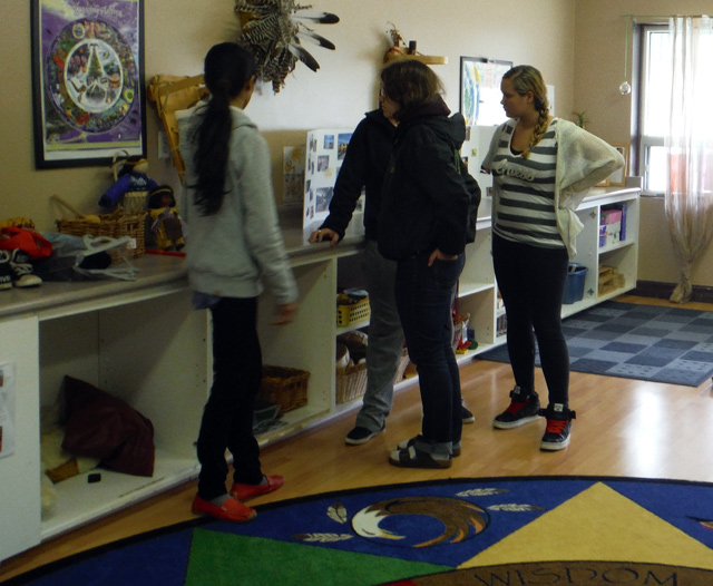 ECE Students Moved by Experience at Aboriginal Head Start Program